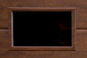 Liga S7 mørk eik vindu