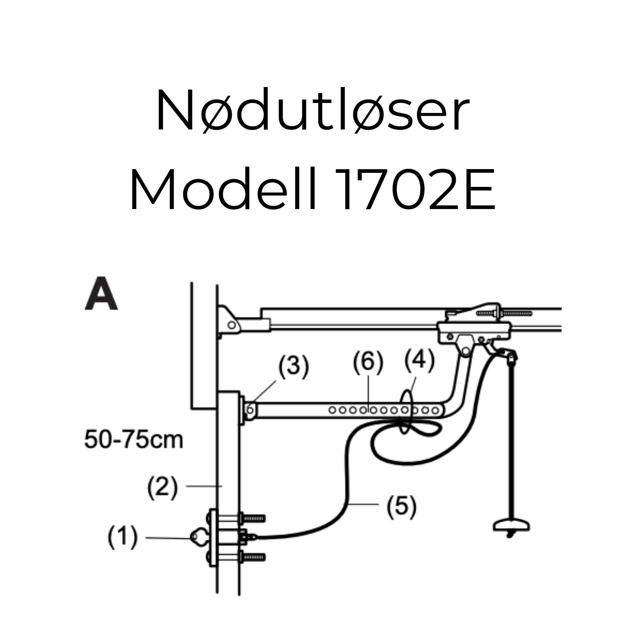 Nødutløser Modell 1702E
