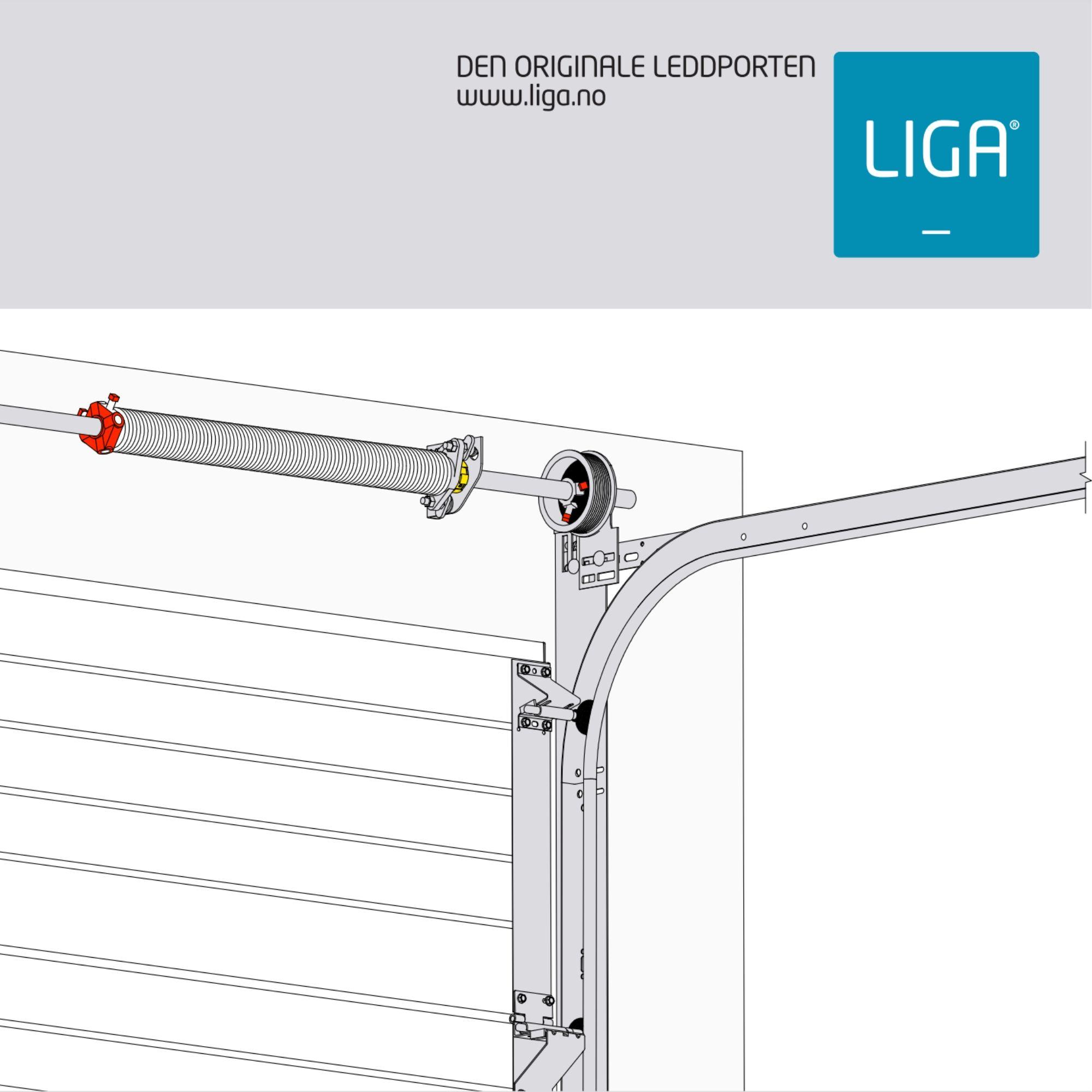 Monteringsveiledning for treport med 10cm overhøyde