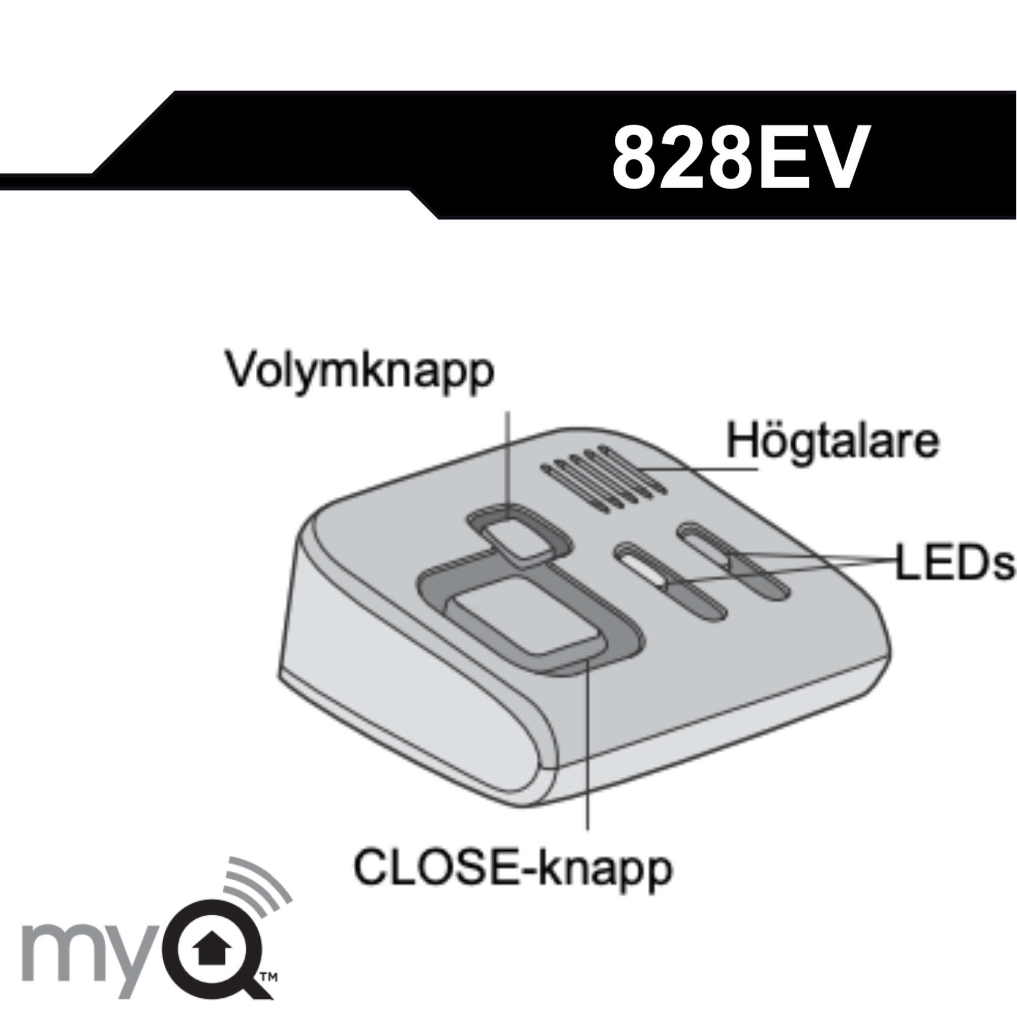 Manual for Garage Door Monitor 828EV
