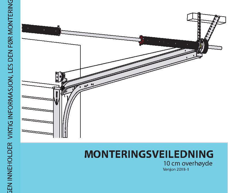Monteringsveiledning 10cm overhøyde