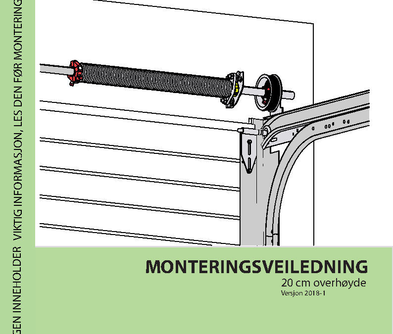Monteringsveiledning 20cm overhøyde